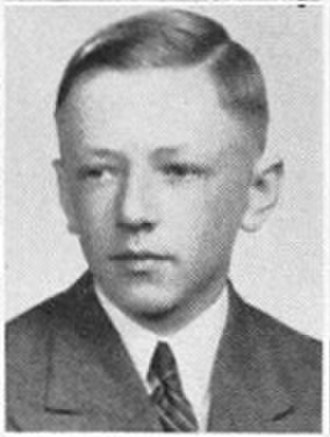 Charles M. Schulz - Schulz's high school yearbook photo, 1940