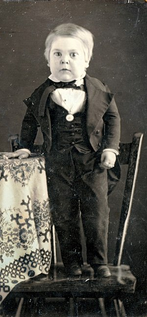 General Tom Thumb - Stratton circa 1848, while 10 years old.