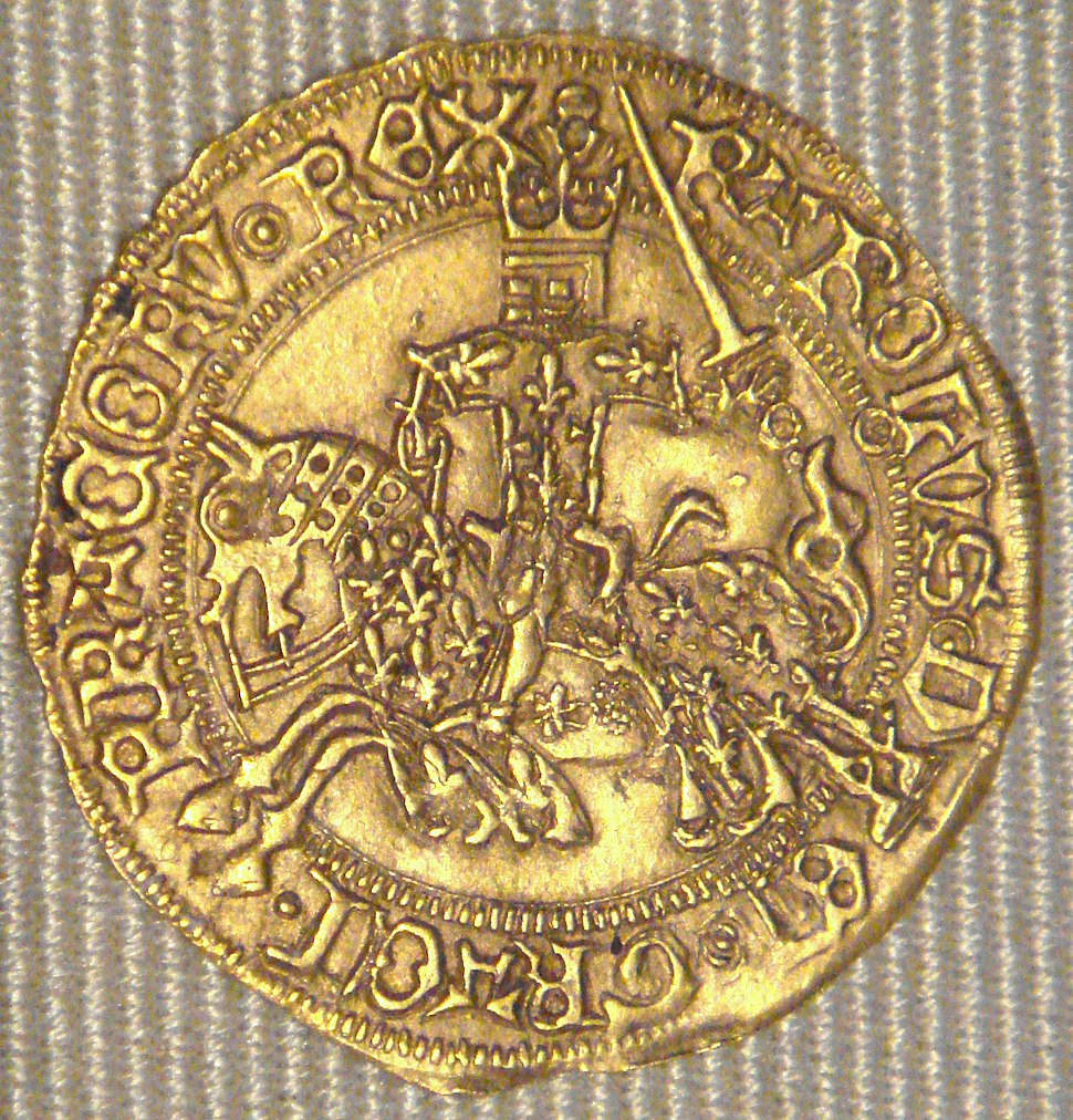 Charles VII Franc a cheval 1422 1423