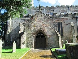 Checkley - Checkley parish church