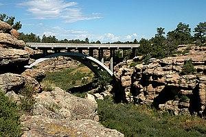 Cherry Creek Bridge - Image: Cherry Creek Bridge