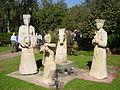 Chessmen Sculpure in Kibbutz Hagoshrim.JPG