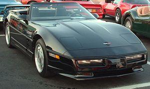 GM Y platform - Chevrolet Corvette C4 Convertible