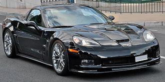 Chevrolet Corvette (C6) - 2009 Chevrolet Corvette ZR1