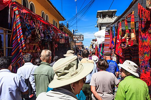 Chichicastenango market scenes Places to Visit in Guatemala
