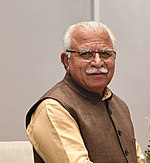 Chief Minister of Haryana Shri Manohar Lal.jpg