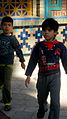 Children in Al-Mahruq mosue - Nishapur.JPG