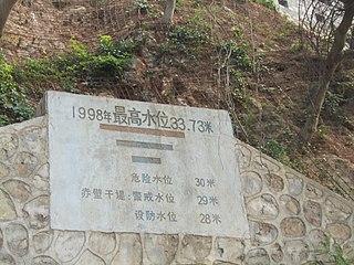 June-September 1998 major flood in China at the Yangtze River