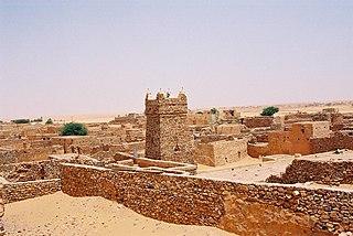 Chinguetti Place in Adrar Region, Mauritania