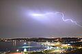 Chitgar Lake lightning Tehran.jpg