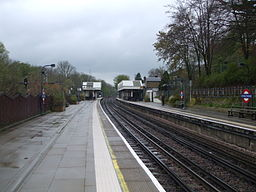 Chorleywood station look north
