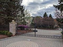 Dom Chrisa Rocka w Alpine, New Jersey