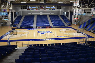 Christenberry Fieldhouse - Image: Christenberry Fieldhouse floor