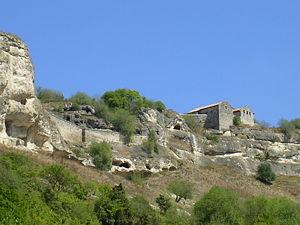 Blick auf die einstige Festung