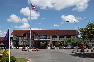 Chumphon railway station railway station in Thailand