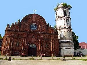 Tumauini, Isabela - Façade of St. Mathias Parish Church