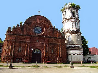 Tumauini, Isabela - Façade of St. Mathias Parish Church