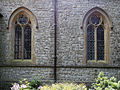 Church of the Holy Innocents, High Beach, Essex, England - nave north windows.jpg