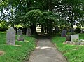 Churchyard of St. Peter's Church - geograph.org.uk - 513378.jpg