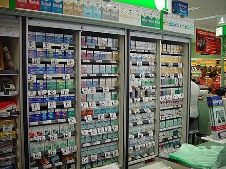Cigarette brand list