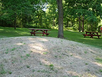 National Register of Historic Places listings in Crawford County, Wisconsin - Image: Cipra Wayside Mounds