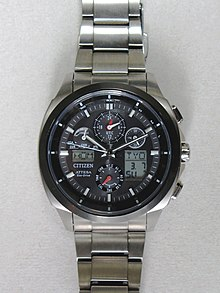 c0a67ced400 Citizen Attesa Eco-Drive ATV53-3023 analog-digital chronograph with 4 area  Radio Controlled reception (North America