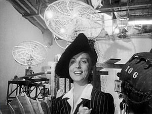 Agnes Moorehead - Moorehead in the trailer for ''Citizen Kane'' (1940)
