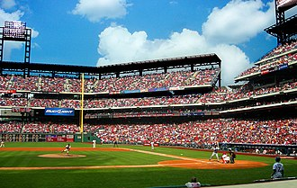 Citizens Bank Park - The Phillies taking on the New York Mets at Citizens Bank Park