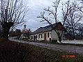 Cladirea postei si a cec-ului din sat ,in fundal biserica reformata - panoramio.jpg