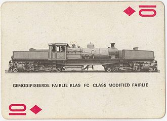 1925 in South Africa - Class FC Modified Fairlie