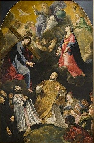Claude Vignon - Image: Claude Vignon The triumph of St Ignatius