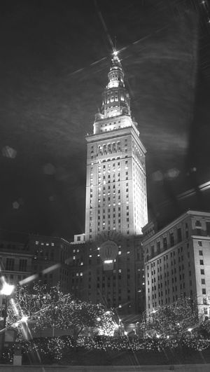 The Fortune Cookie - Terminal Tower, a major Cleveland landmark, served as the exterior for the law firms in the film