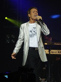 Cliff Richard in November 2009