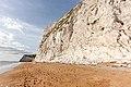 Cliff near Durdle Door in Dorset 3.jpg