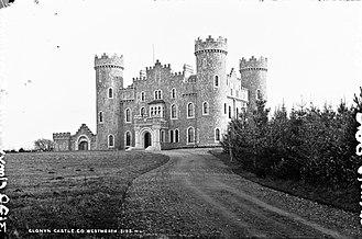 Clonyn Castle - Clonyn Castle, Delvin circa 1900