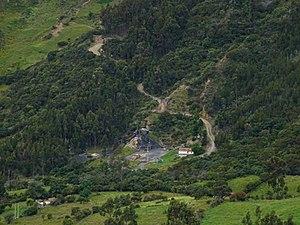 Guaduas Formation - Image: Coal mining Monguí Páramo de Ocetá