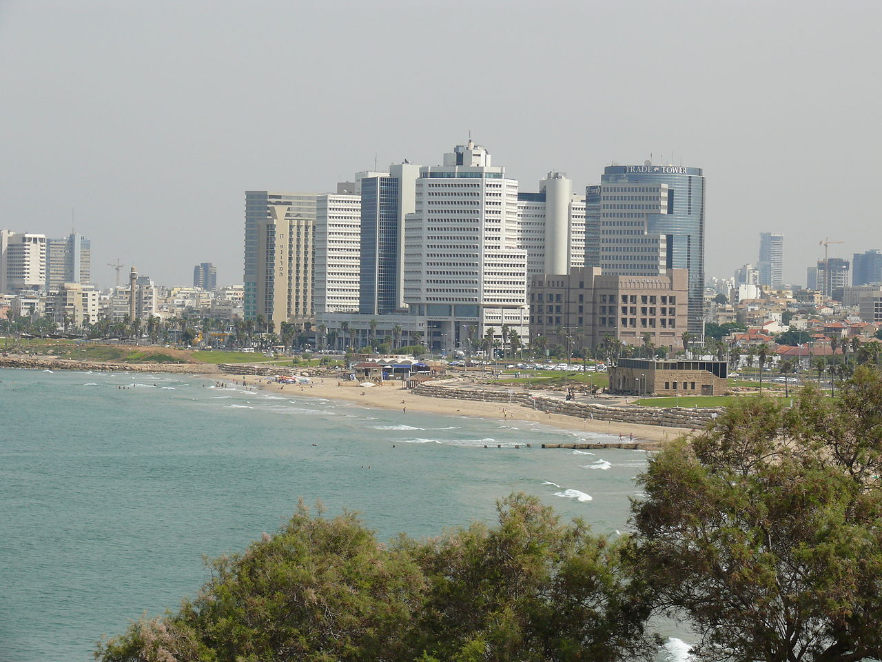 Tel Aviv Wikipedia: File:Coast Of Tel Aviv From Jaffa (9198130137).jpg