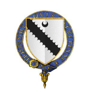 Richard Ratcliffe - Coat of arms of Sir Richard Ratcliffe, KG