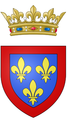 Coat of arms of Philippe, Duke of Anjou (future King of Spain).png