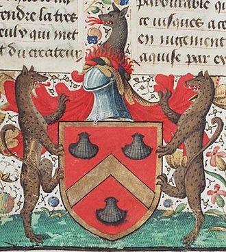 Philippe de Commines - Coat of arms of Philippe de Commines.