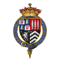 Coat of arms of Sir John Russell, 1st Earl of Bedford, KG, PC.png