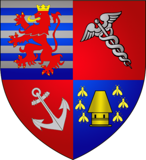 Wiltz - Image: Coat of arms wiltz luxbrg