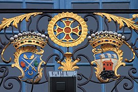 Coats of arms, balcony of Capitole of Toulouse 10.JPG
