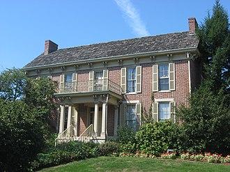 Cochran–Helton–Lindley House - Cochran-Helton-Lindley House, September 2010