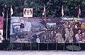 Collectie NMvWereldculturen, TM-20019402, Dia- Schildering ter gelegenheid van het 40-jarig jubileum van de viering van Onafhankelijkheidsdag, Henk van Rinsum, 08-1985.jpg
