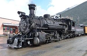 Rio Grande class K-36 - Image: Colorado Silverton 02