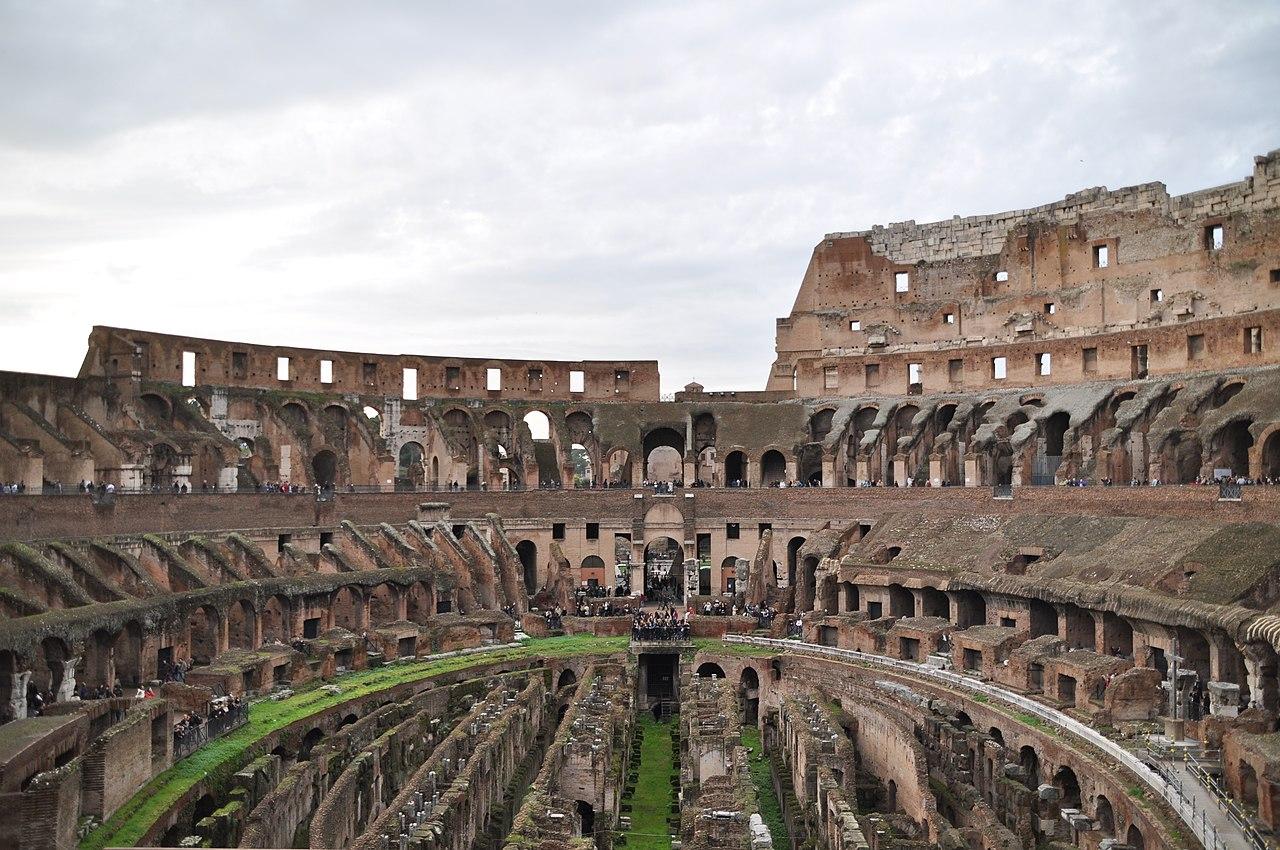 File:Colosseum-Rome-Inside.JPG
