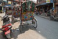 Colourful rickshaws in Kathmandu (17231001903).jpg
