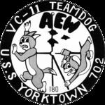 Composite Squadron 11 Det. D (US Navy) insignia, 1954.png
