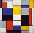 Composition A by Piet Mondrian Galleria Nazionale d'Arte Moderna e Contemporanea.jpg